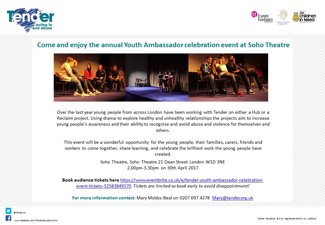 Youth Ambassador Celebration Event