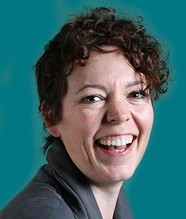 Our patron Olivia Colman