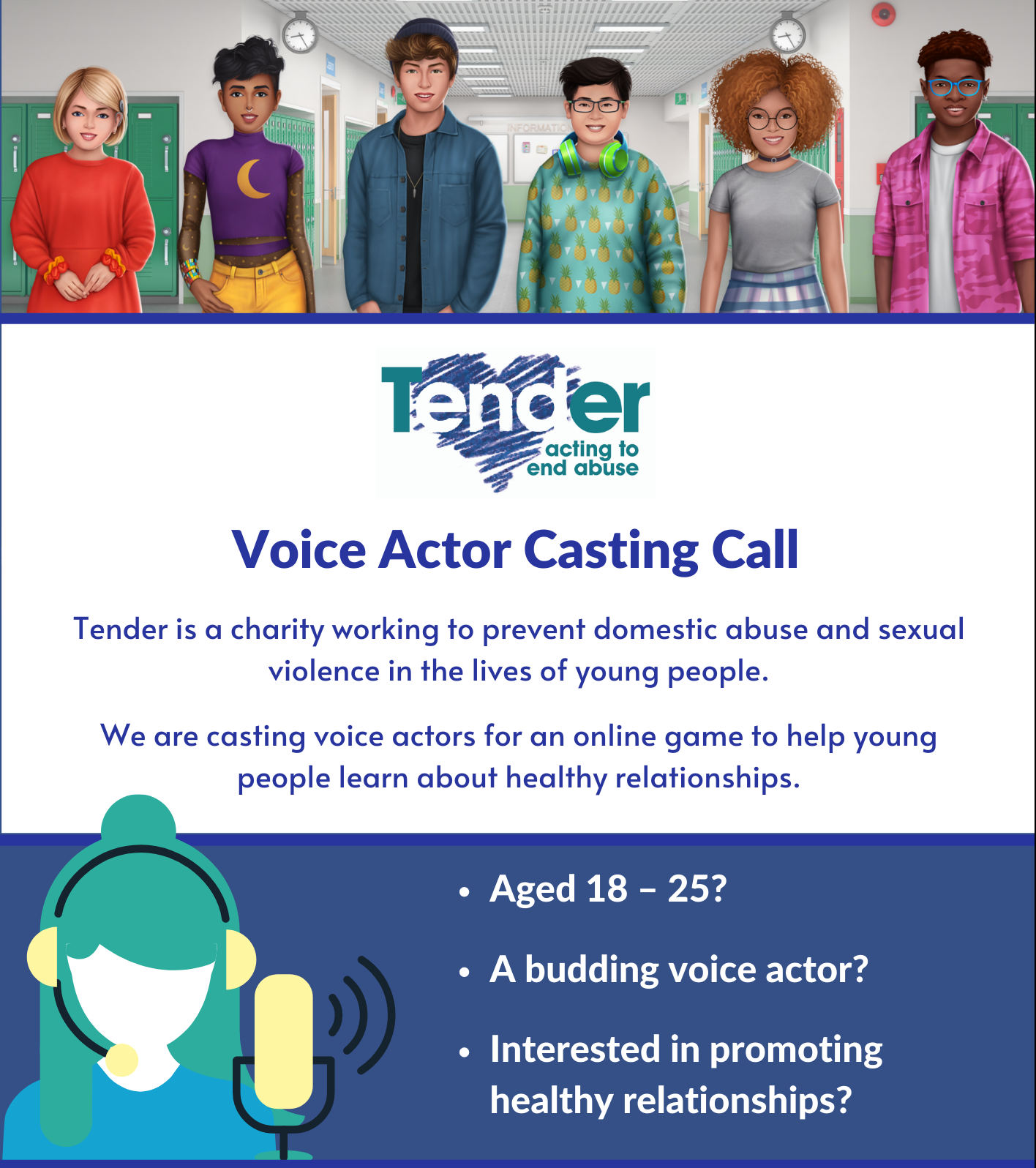 Casting Call - Voice Actors