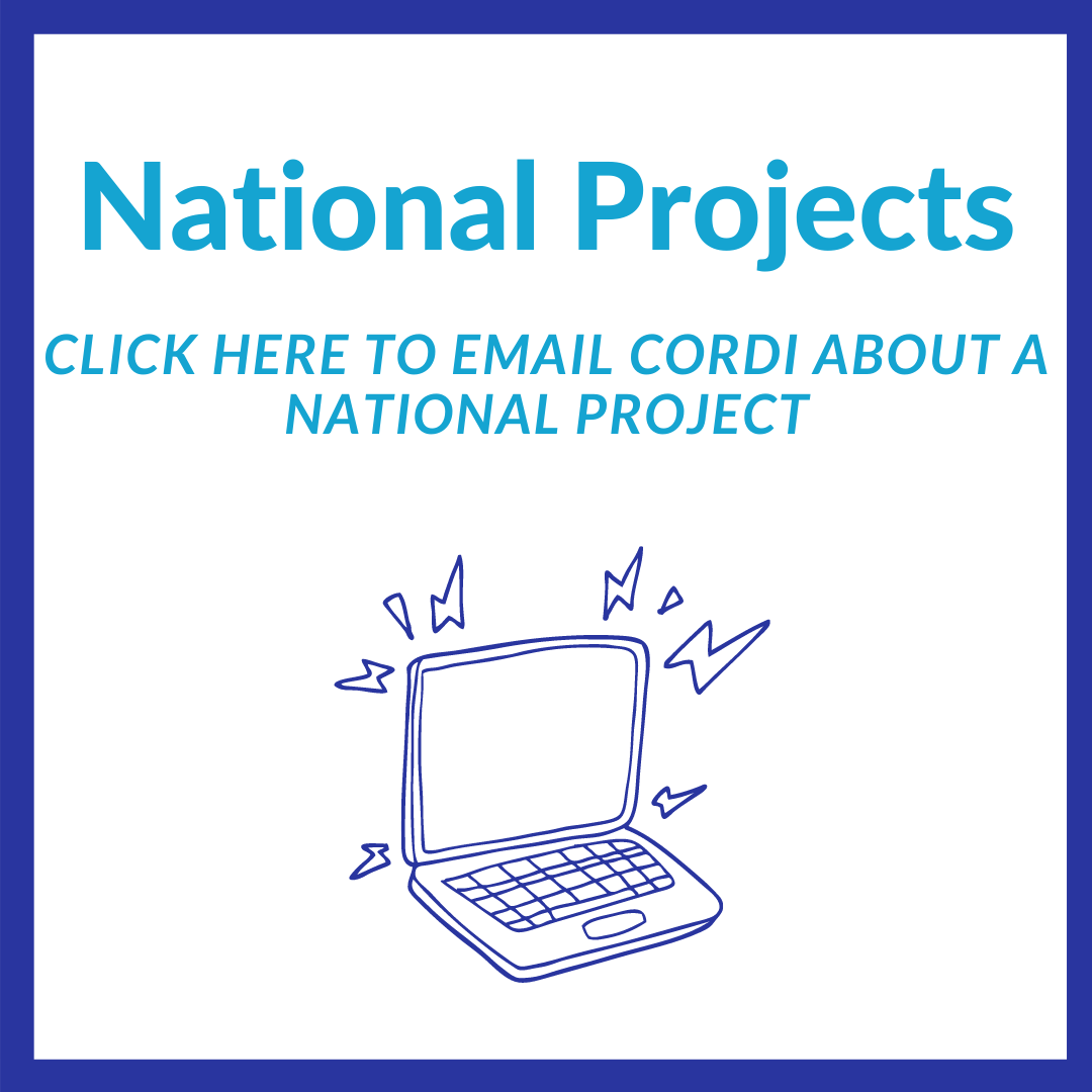 To book a project in one of our National regions, click here to email Cordi
